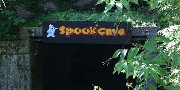 Spook Cave entrance